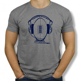Tshirt Rugby MUSIC homme
