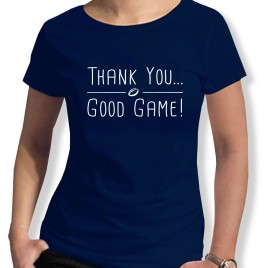 Tshirt Rugby GOOD GAME femme