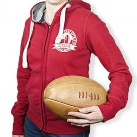 Veste Rugby Vintage Red F