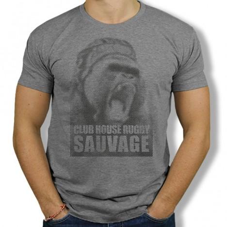 Tshirt Rugby Sauvage Gorille