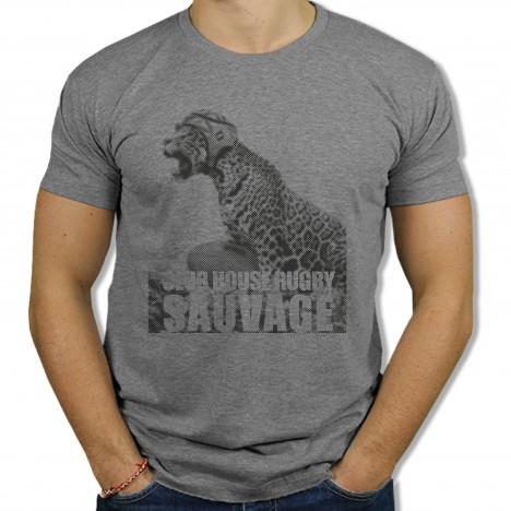 Tshirt Rugby Sauvage Jaguar
