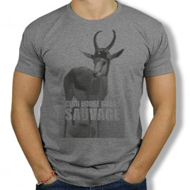 Tshirt Rugby SAUVAGE SPRINGBOK homme