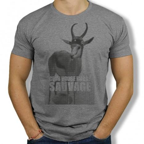 Tshirt Rugby Sauvage Springbok