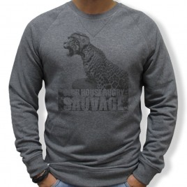 Sweat Rugby SAUVAGE JAGUAR homme