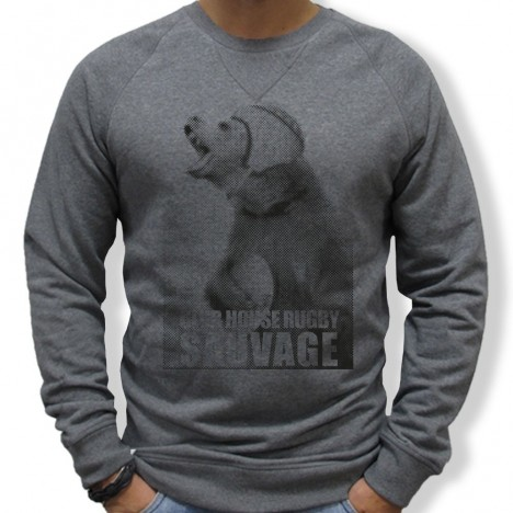 Sweat Rugby Sauvage Ours