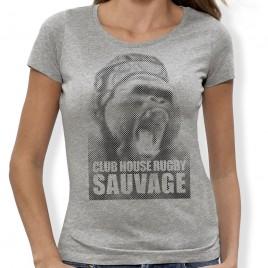 Tshirt Rugby Sauvage Gorille F