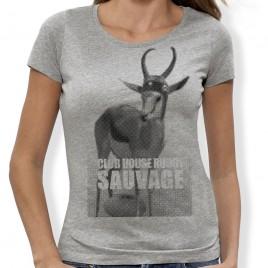 Tshirt Rugby Sauvage Springbok F