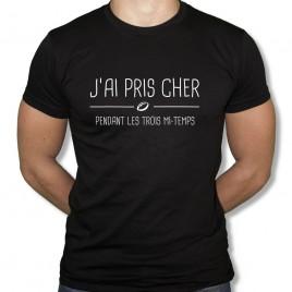 Tshirt Rugby J'AI PRIS CHER homme