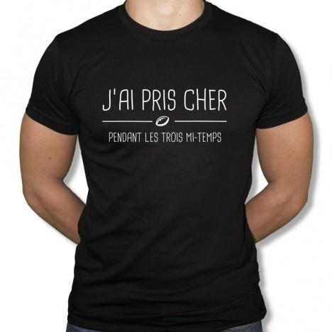 Tshirt Rugby J'ai pris cher