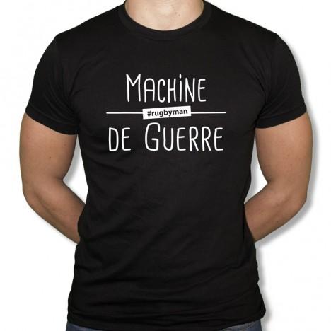 Tshirt Rugby Machine de guerre