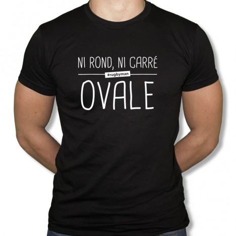 Tshirt Rugby Ovale