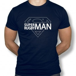 Tshirt Rugby Superman
