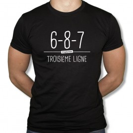 Tshirt Rugby Troisième ligne