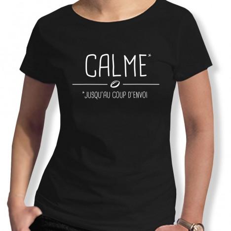 Tshirt Rugby Calme F