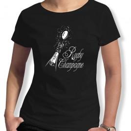 Tshirt Rugby CHAMPAGNE femme