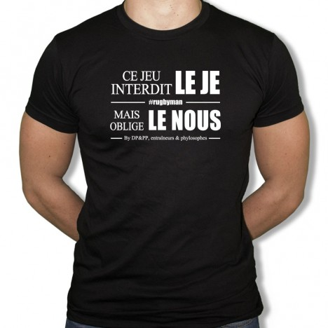 Tshirt Rugby Le nous
