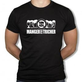 Tshirt Rugby MANGER C'EST TRICHER homme