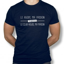 Tshirt Rugby MA PASSION homme