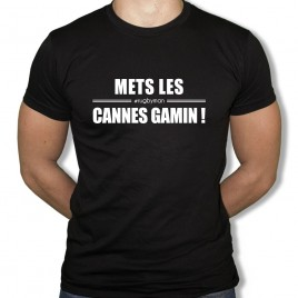 Tshirt Rugby Mets les cannes