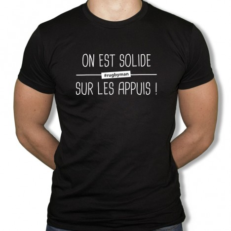 Tshirt Rugby Solide