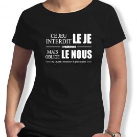 Tshirt Rugby LE NOUS femme