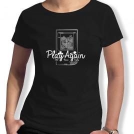 Tshirt Rugby Brique PlayAgain F
