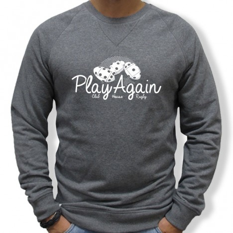 Sweat Rugby 421 PLAYAGAIN homme