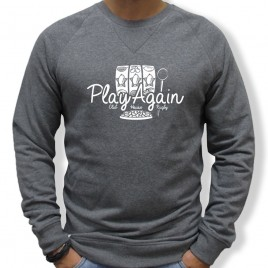 Sweat Rugby JACKPOT PLAYAGAIN homme