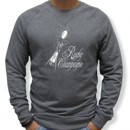 Sweat Rugby CHAMPAGNE homme