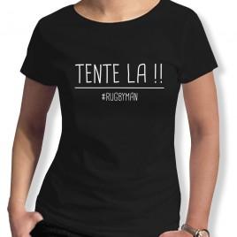 Tshirt Rugby TENTE LA femme