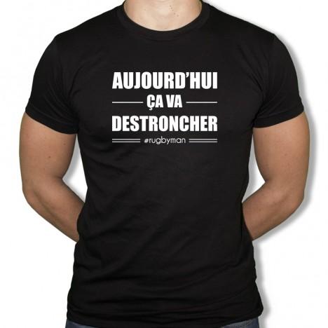 Tshirt Rugby Ca va Destroncher