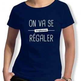 Tshirt Rugby ON VA SE REGALER femme