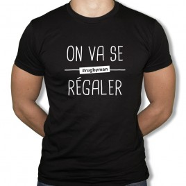 Tshirt On va se regaler H