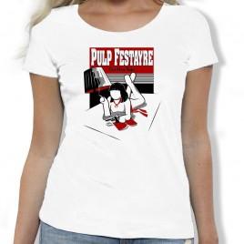 Tshirt Rugby PULP FESTAYRE femme