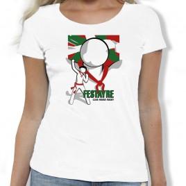Tshirt Rugby ROCKY FESTAYRE femme