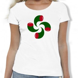 Tshirt Rugby EUSKAL RUGBY femme