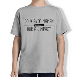 Tshirt Rugby DOUX AVEC MAMAN enfant