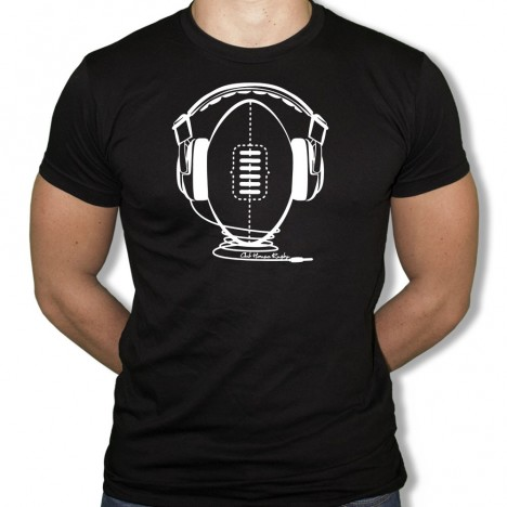 Tshirt Rugby Music