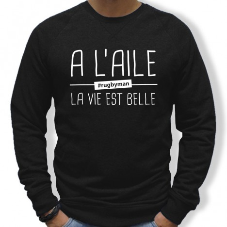 Sweat Rugby A l'aile