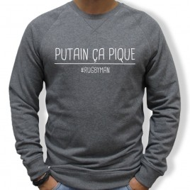 Sweat Rugby CA PIQUE homme