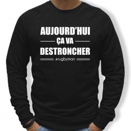 Sweat Rugby CA VA DESTRONCHER homme