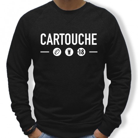 Sweat Rugby Cartouche