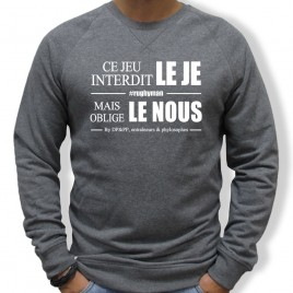 Sweat Rugby LE NOUS homme