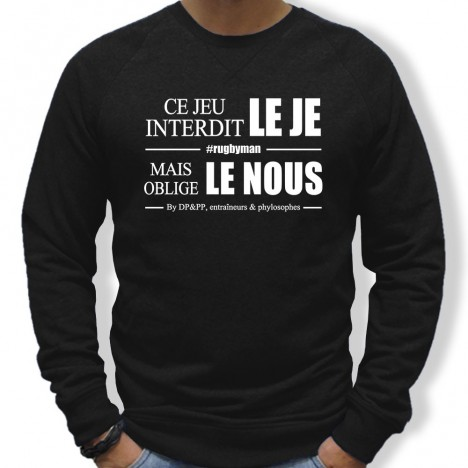 Sweat Rugby Le nous