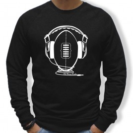 Sweat Rugby MUSIC homme