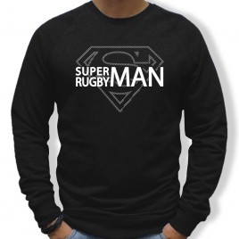 Sweat Rugby SUPERMAN homme