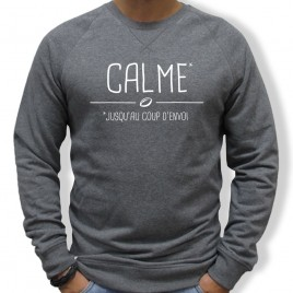 Sweat Rugby CALME homme