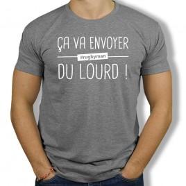 Tshirt Rugby DU LOURD homme