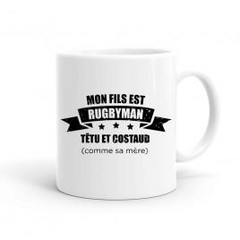 Mug Rugby Mère de rugbyman