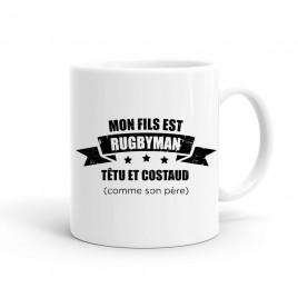 Mug Rugby Père de rugbyman